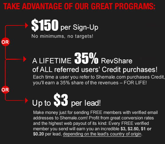 $150 Per Sign-up or Lifetime 30% RevShare!